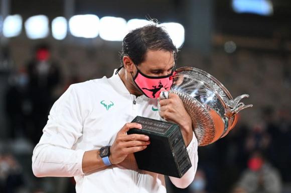 Rafael Nadal ganador