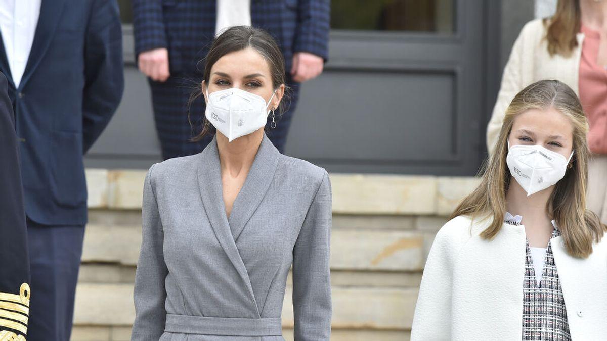 La Reina Letizia y la Princesa Leonor se vacunan a la vez de Covid-19