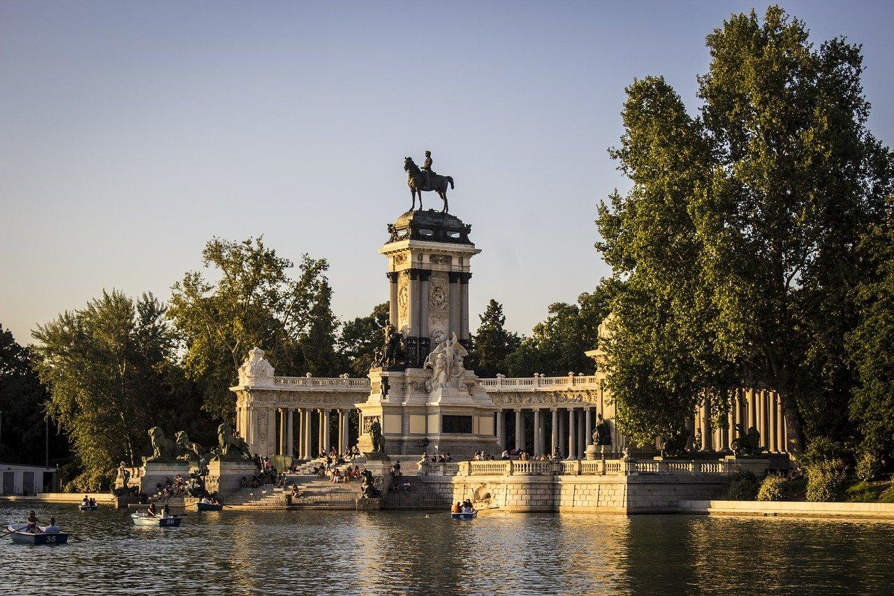 Parque del Retiro Paseo del Prado